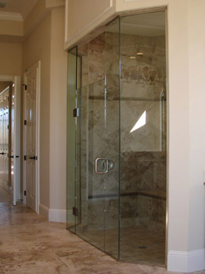 Shower Door and Enclosure Pictures by Emergency Glass Service